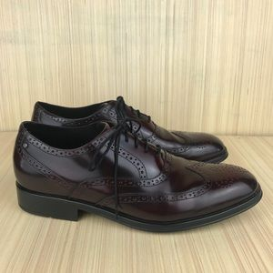 Rockport Almartin Burgundy Wingtip Oxford